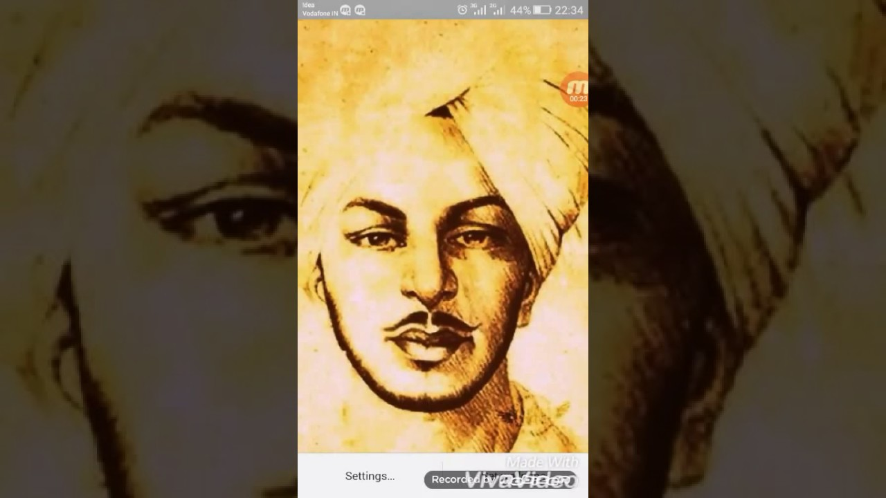 Shahid E Azam Bhagat Singh Live Wallpaper Youtube