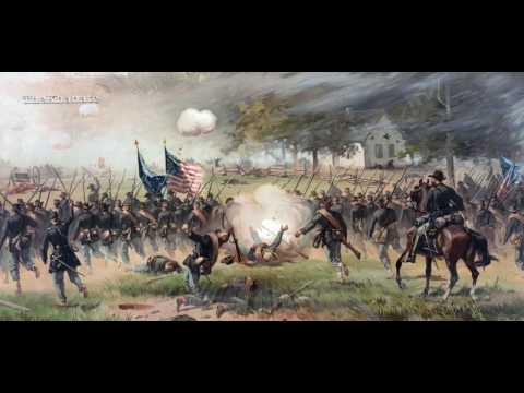 "American Civil War Song: ""When Johnny Comes Marching Home"" (Türkçe altyazılı)"
