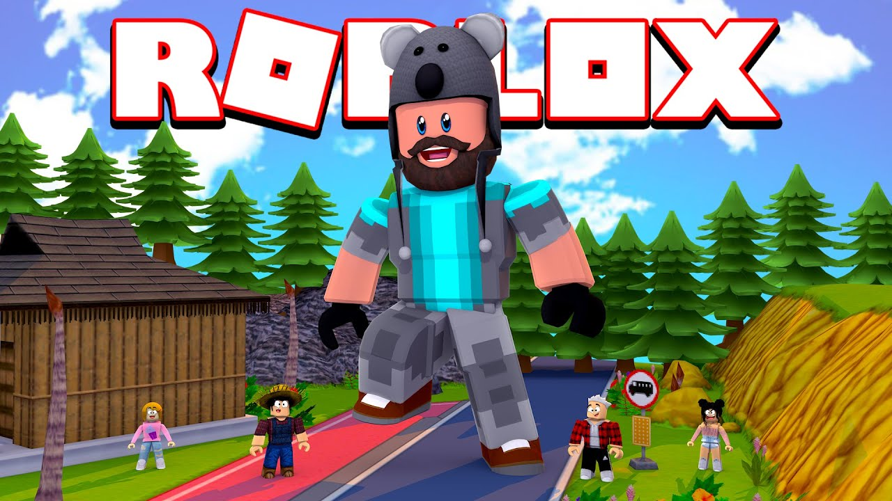 Becoming The Biggest Giant In Roblox Youtube