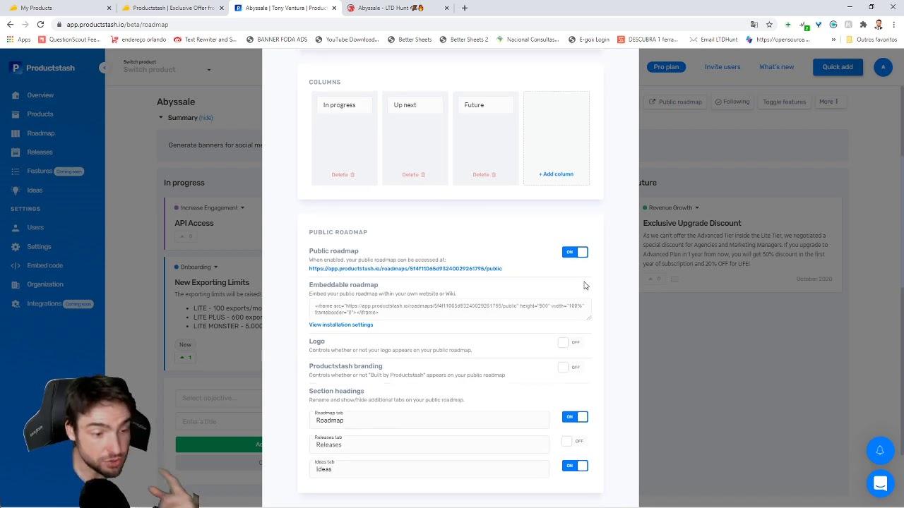 Ferramenta de votação e Roadmap ProductStash   Lifetime Deal