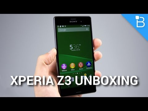 Sony Xperia Z3 for T-Mobile Unboxing