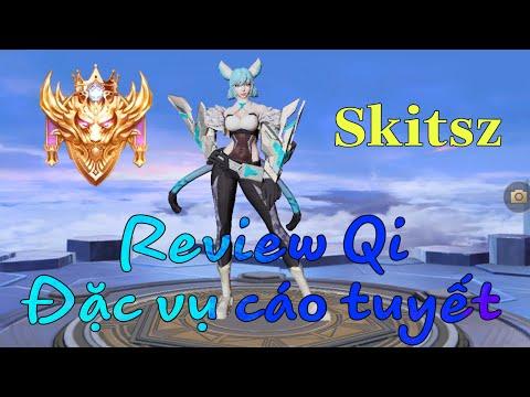 Review Trang phục Qi đặc vụ cáo tuyết mùa 15 liên quân mobile