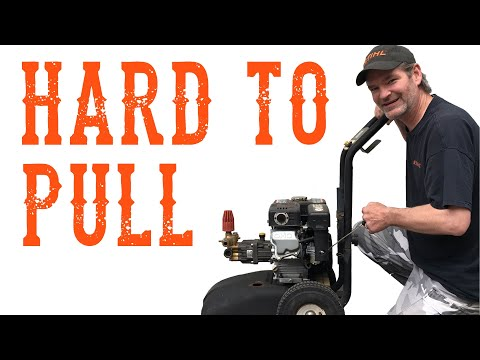 Don't Make This Mistake When Starting Your Pressure Washer - Video