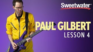 """Paul Gilbert Guitar Lesson 4: Using the Lessons Learned from """"The Most Important Lick in the World."""""""