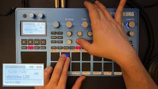 Korg Electribe 2 step by step tutorial to create a track 2021