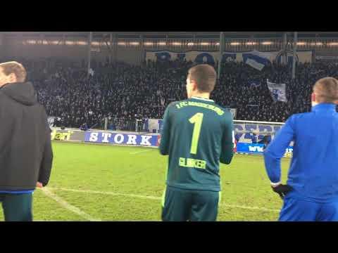 """Stimmung nach dem Spiel 1. FC Magdeburg gegen Sportfreunde Lotte 2:0 (2:0) """"FCM wir lieben dich!"""""""