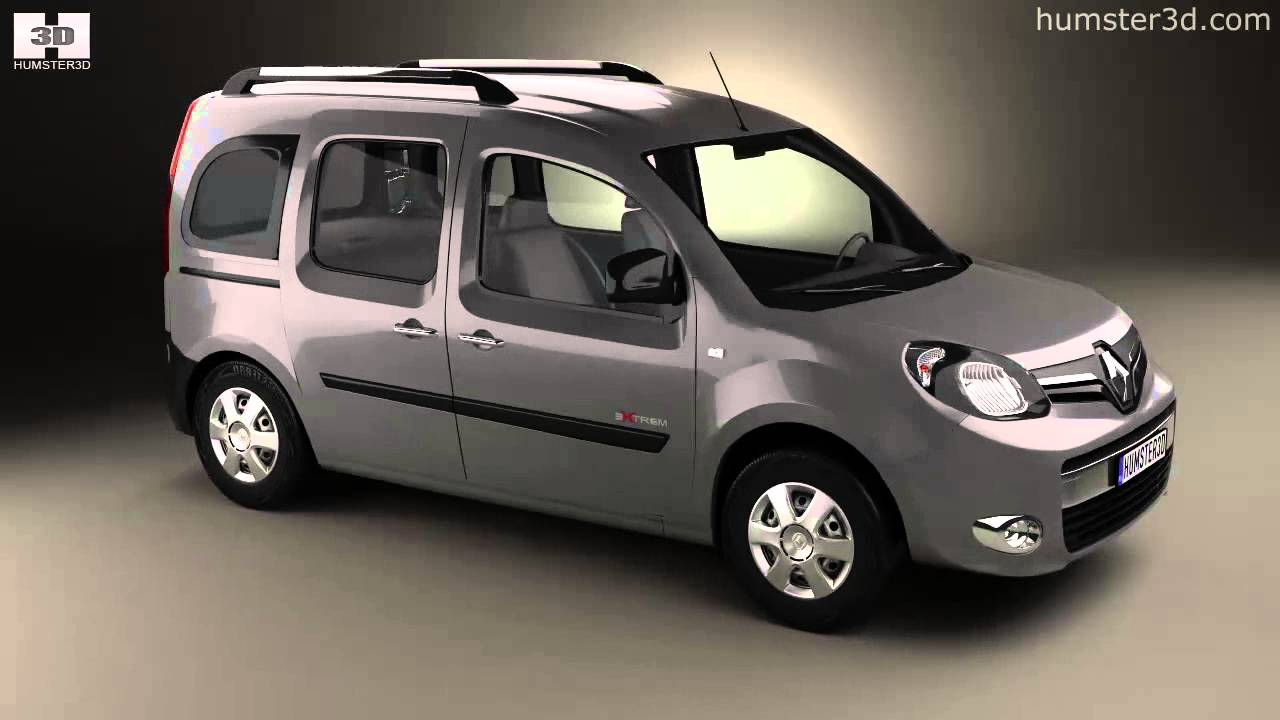 renault kangoo 2014 by 3d model store youtube. Black Bedroom Furniture Sets. Home Design Ideas