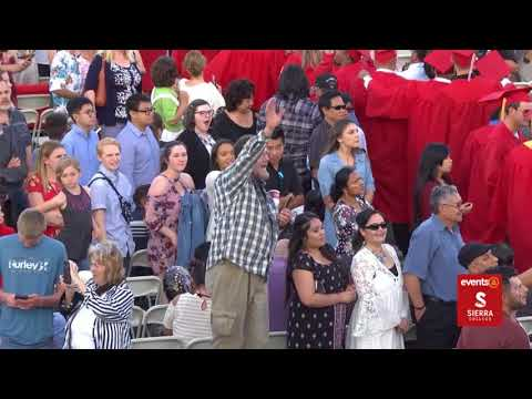 Sierra College Commencement 2018_livestream recorded 5/18/18