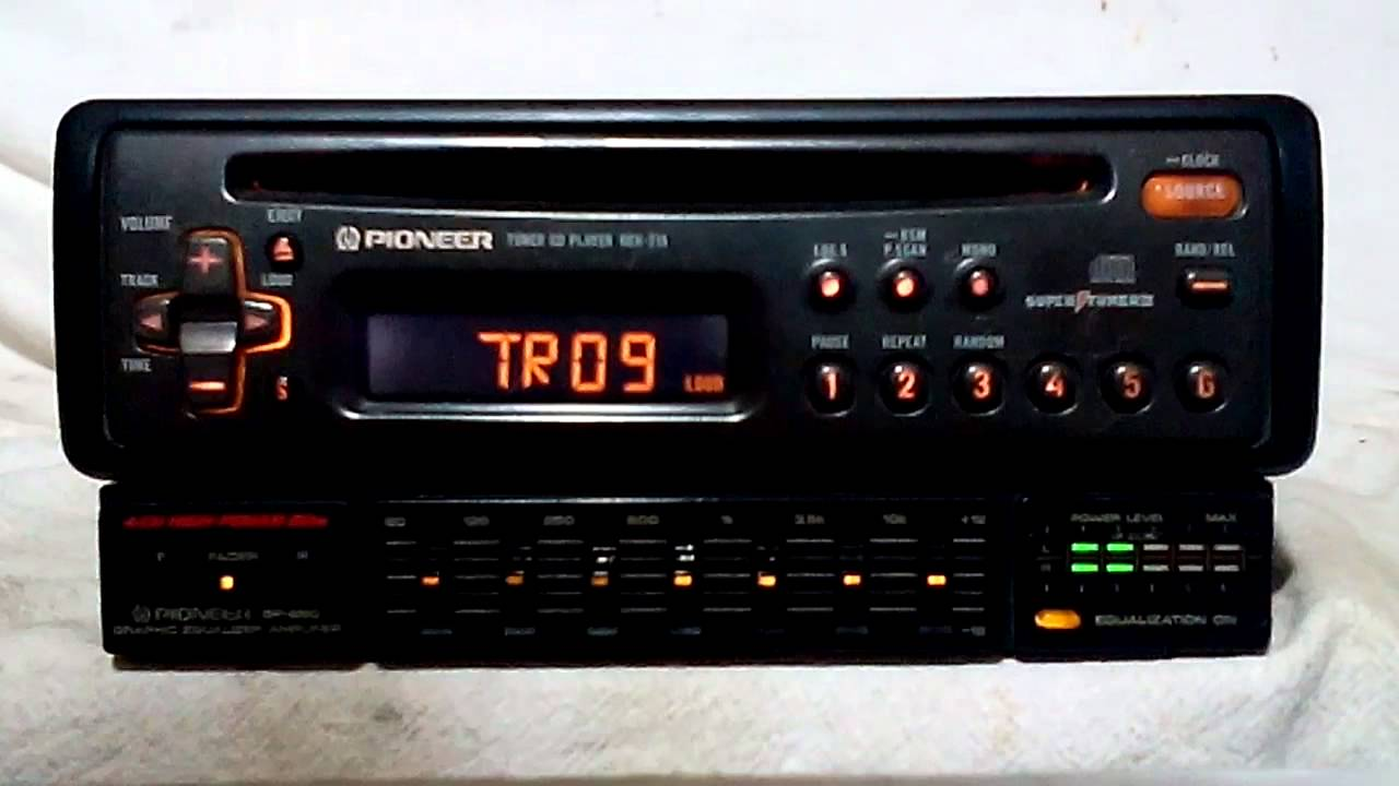 maxresdefault vintage pioneer deh 215 am fm cd player car stereo w bp 880 eq pioneer eq 6500 wiring diagram at nearapp.co