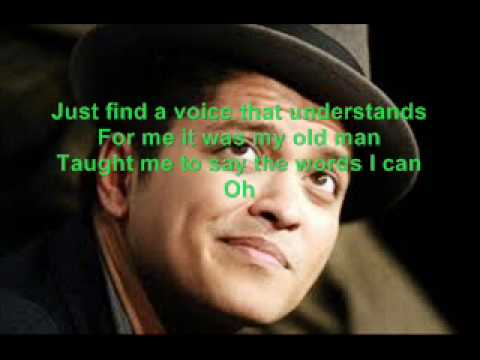 Bruno Mars Never Say You Can't Karaoke