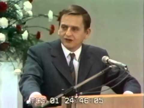 Palme Stockholm Conference 1972