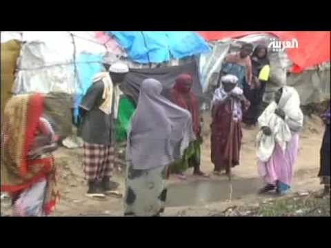 Displaced Camps Flooded in Mogadishu