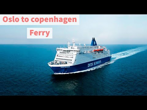 Crusing on the Ferry DFDS ,M.S. Crown Seaways- Oslo to Copenhagen(Denmark),in Tamil