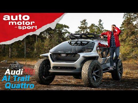 Audi AI:TRAIL quattro: Naturbursche mit Drohnenschwarm - Sitzprobe/Review | auto motor und sport