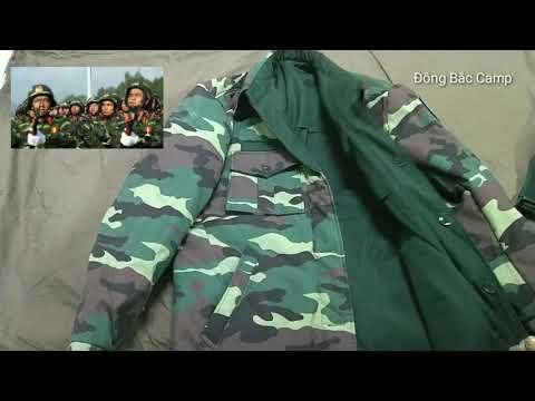 Áo Khoác Rằn Ri Hai Mặt Họa Tiết Rằn Ri Woodland Và Xanh Lá Của Quân đội Việt Nam