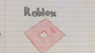 How to draw a roblox symbol/logo