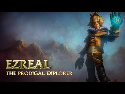 Ezreal: Champion Spotlight | Gameplay - League of Legends