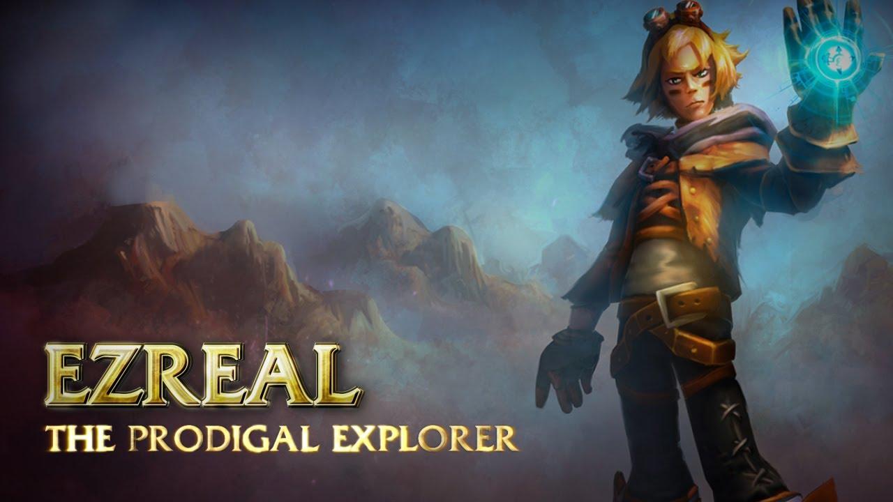 Ezreal: Champion Spotlight | Gameplay - League of Legends ...