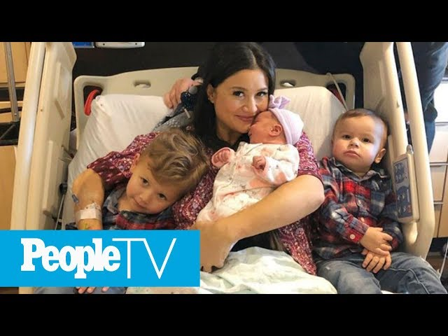 How Sean Lowe & Catherine Giudici Lowe Are Settling Into Parenting Three Kids Under 4 | PeopleTV