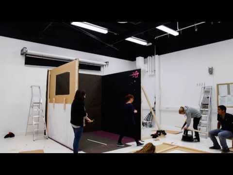 Set Design Studio Project at Falmouth University (BA Photography, Level 2, 2013)