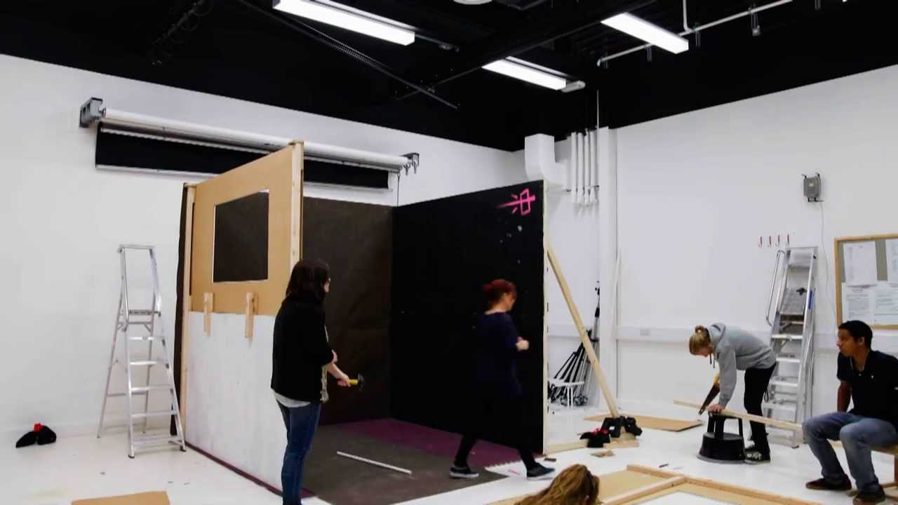 Set design studio project at falmouth university ba for Studio interior design brescia