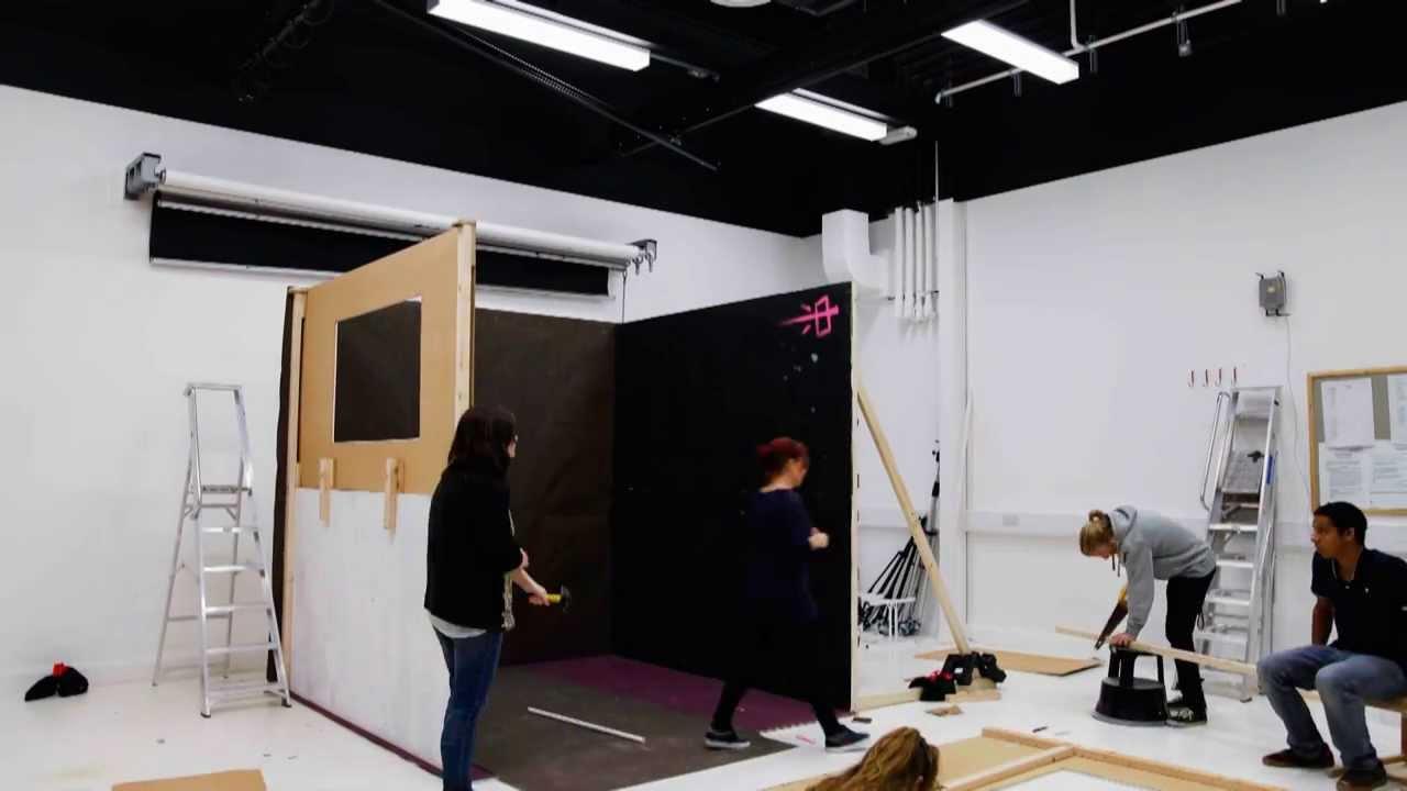 Set Design Studio Project At Falmouth University BA Photography Level 2 2013