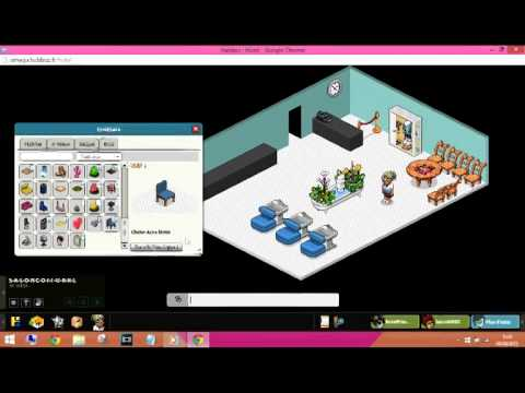 Tuto Habbo Salon De Coiffure Youtube