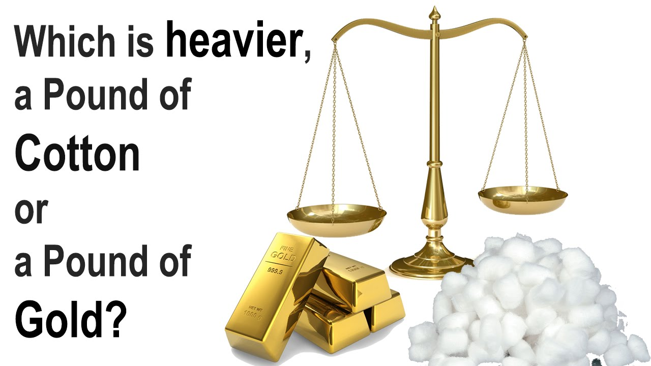 ... of Gold or Cotton? Solve it in a minute [Brainteaser 4] - YouTube