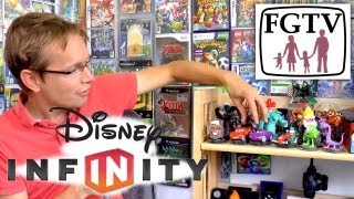 Disney Infinity Full Review  - Starter Pack and All Wave 1 Toys
