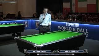 2019 Men's Singles World Championship - FInal - Mick Hill (1)(Eng) v Dom Cooney (Q)