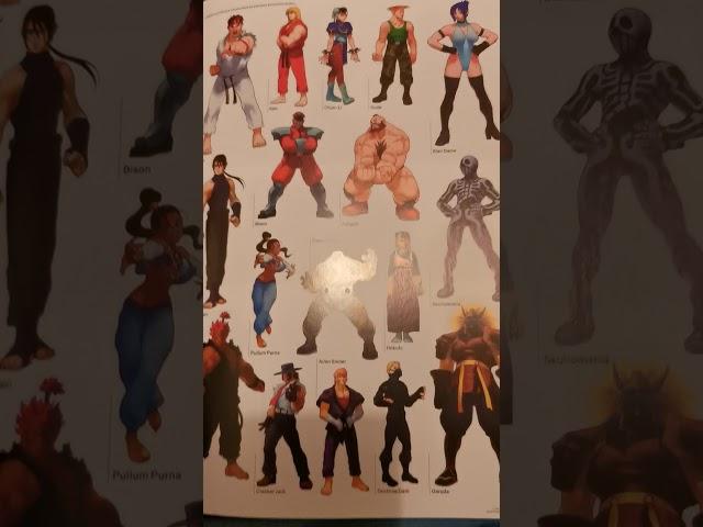 artbook l'art de street fighter avis