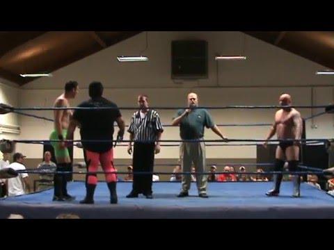 DAVID YOUNG Vs DONOVAN DANIELS With Beau James EWP Wrestling