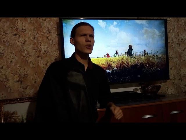 Изображение предпросмотра прочтения – ОскарТорбек читает произведение «Я иду долиной. На затылке кепи…» С.А.Есенина