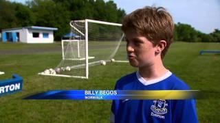Tim Howard prodigy's at Everton America make the news
