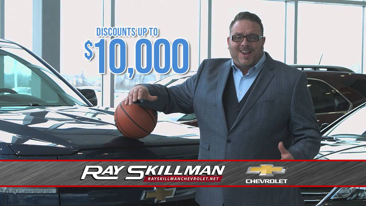 Ray Skillman Hyundai >> Ray Skillman Chevy Lease Madness - YouTube