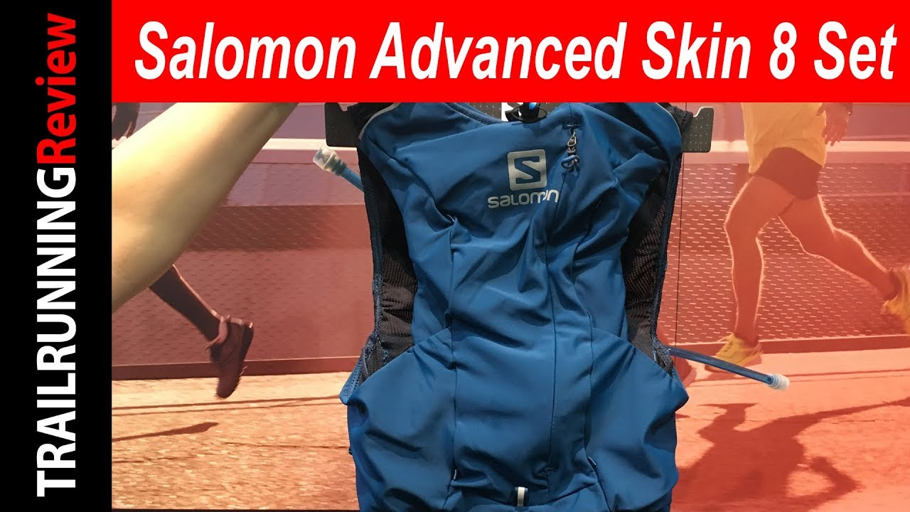 38a2f665bfb Salomon Advanced Skin 8 Set Preview - YouTube