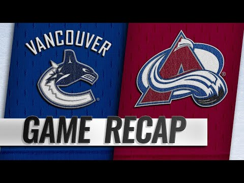 Canucks cruise past Avalanche, 5-1