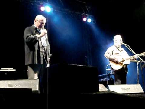 """Konstantin Wecker & Hannes Wader  """"Dat du min leevsten büst"""" live"""