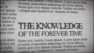 THE KNOWLEDGE OF THE FOREVER TIME (New Episode)