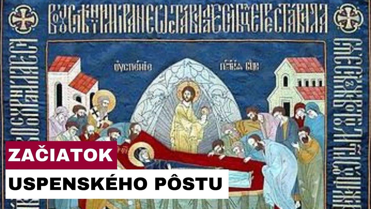 Gréckokatolíkom na Slovensku začal Uspenský pôst