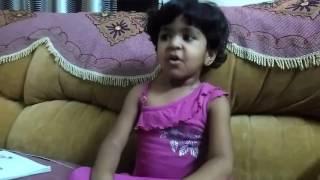 Dandalayya Song by Cute little Girl | Baahubali 2