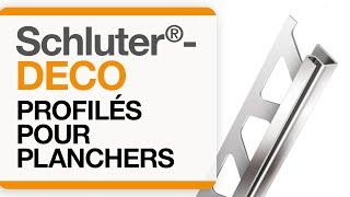 Comment installer le profilé pour plancher: Schluter®-DECO
