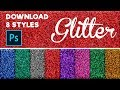 Download: Glitter effect Photoshop Styles