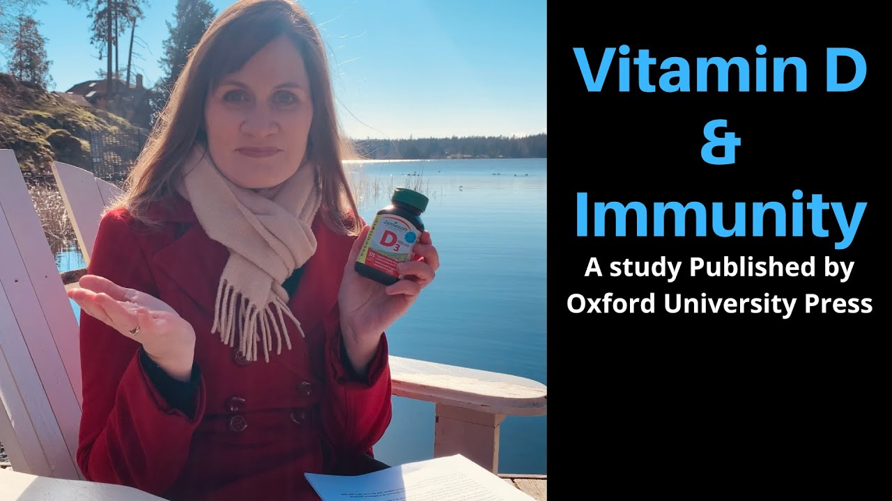 Vitamin D & Immunity in Older Adults: A Study published by Oxford University Press