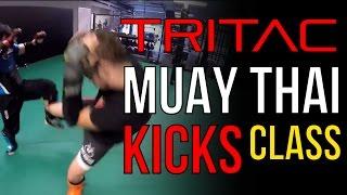 TRITAC-Unarmed Class with Muay Thai Kick Training