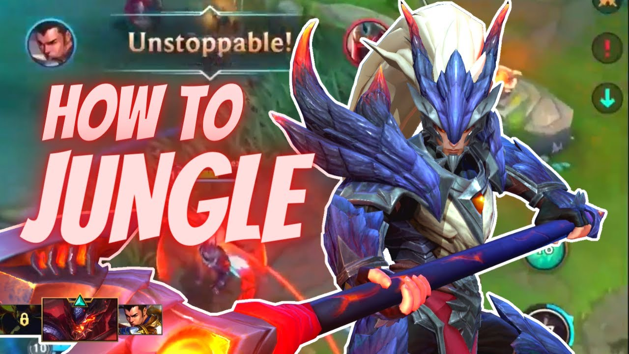 About Smite And Jungle Rotation Basic Guide Wild Rift League Of Legends Mobile Youtube