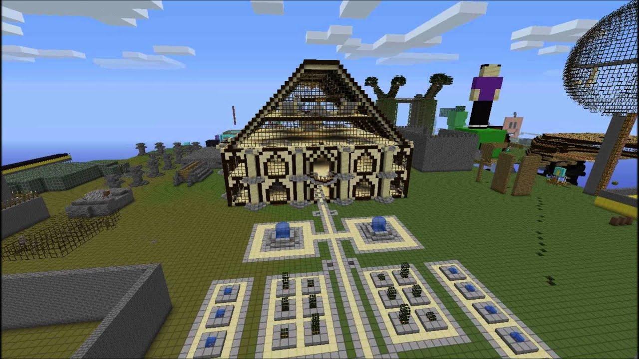 Minecraft Creative Server Trailer YouTube