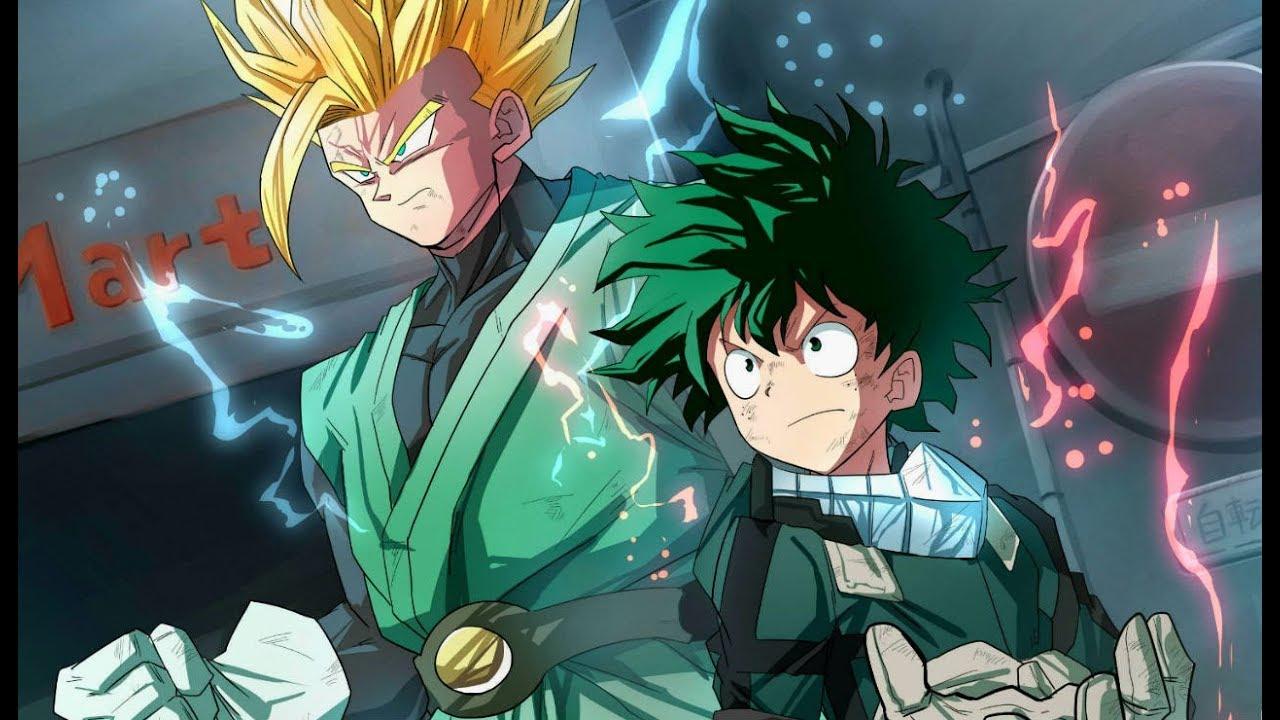 Gohan SAVES Deku BEFORE All Might in Dragon Ball X My Hero Academia
