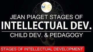 Intellectual Development Stages Given by Piaget | DSSSB | CTET | KVS | TET