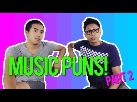 Can You Handel The Music Puns? (Part 2/2) ft. Andrew Huang
